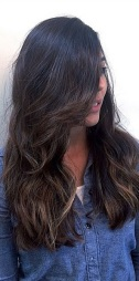 subtle brunette highlights 2015
