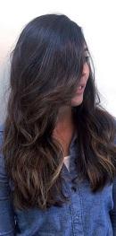 subtle brunette highlights 2015