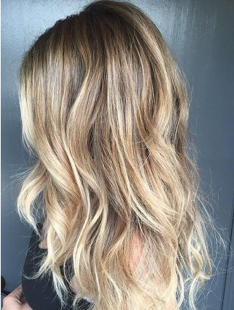 california bronde or blonde hair color