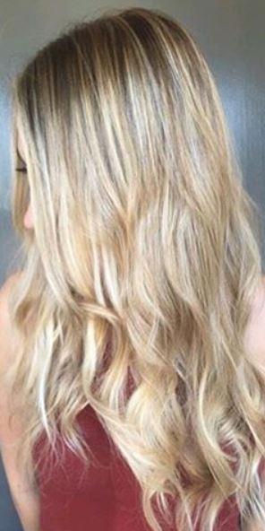 hair color idea - bronde highlights