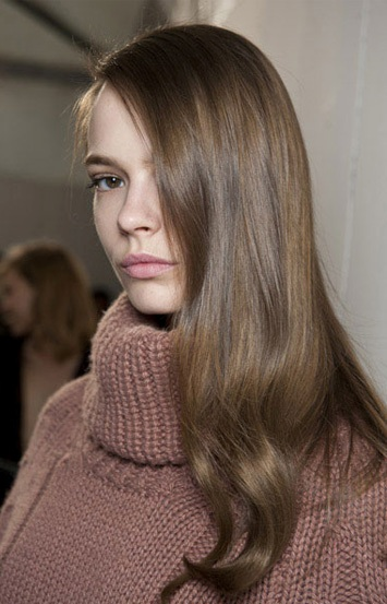 bluemarine fall 2015 hair