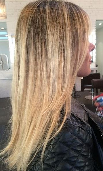 natural rooty blonde blend