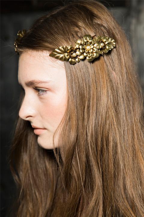 rodarte spring 2016 hair