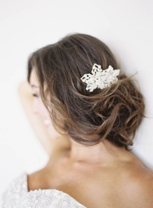 Vivien crystal comb - oliva nelson hair accessories