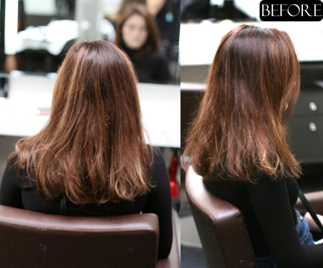 hair color ideas before and after