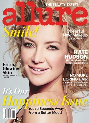 kate hudson allure magazine november 2015 cover