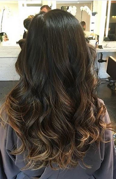 long hair with long layers for volume