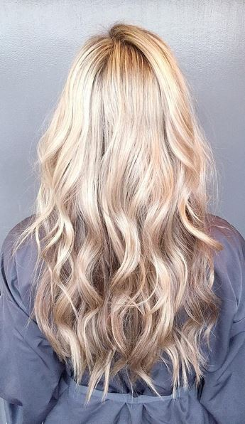 winter blonde babylights