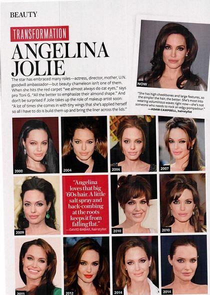 Angelina Jolie Instyle Magazine
