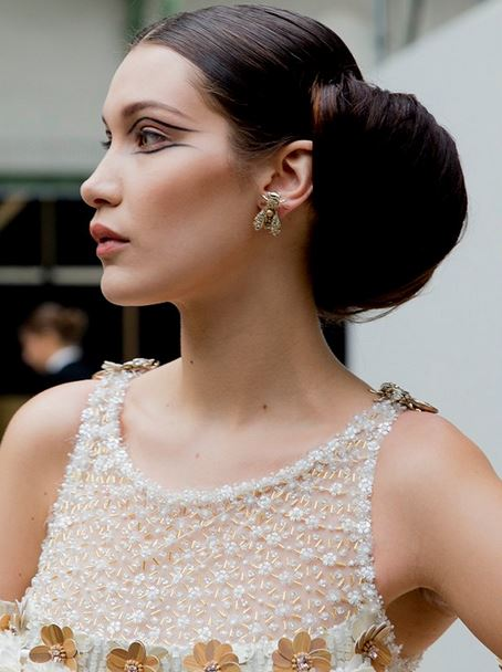 chanel hair spring 2016 haute couture