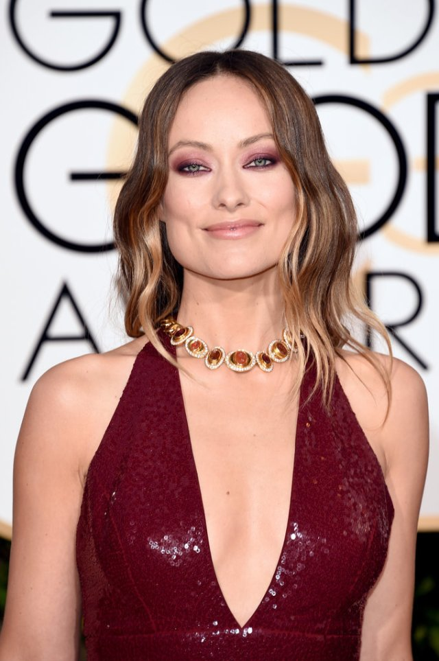 olivia wilde - hair color 2016