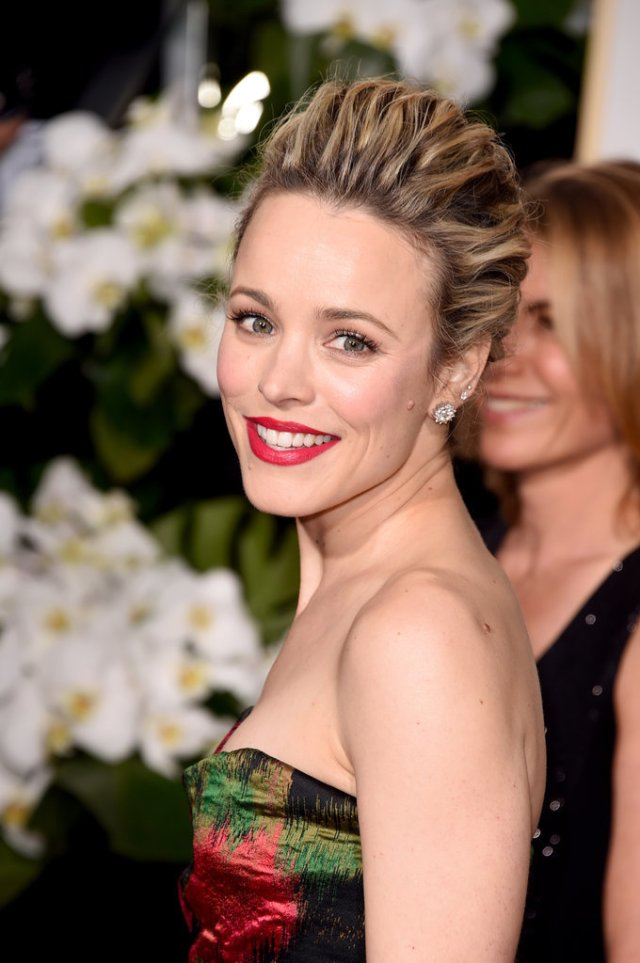 Rachel McAdams - volumized updo