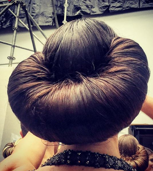 the chanel croissant hairstyle