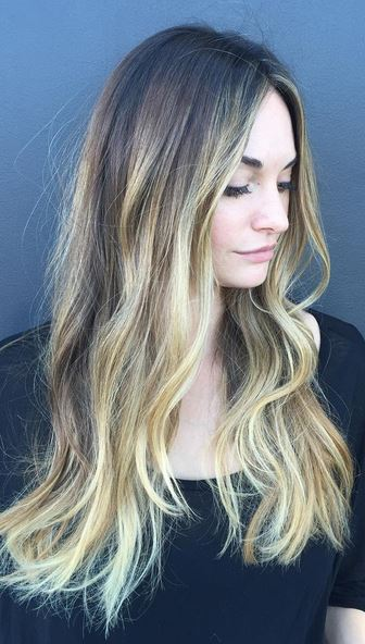 want this - bronde highlights