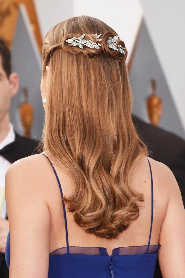 brie larson hair 2016 oscars