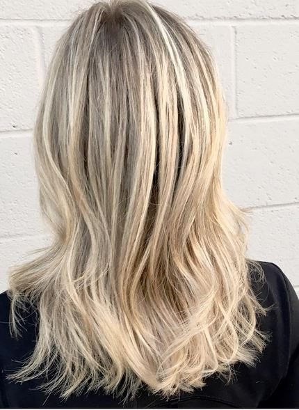 hair color trends - blonde babylights