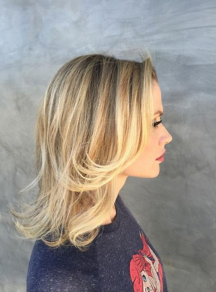 honey and blonde highlights