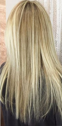 natural looking blonde highlights