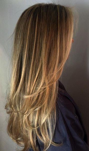 very light brunette or very dark blonde