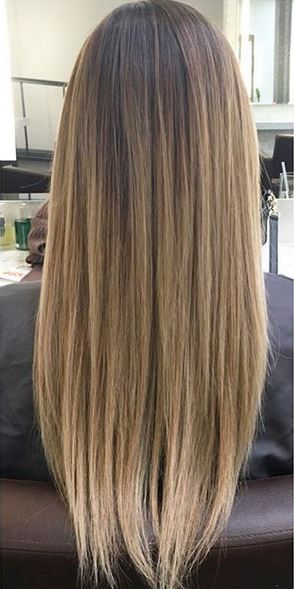 very natural looking bronde hair color