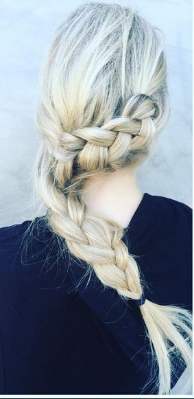 coachella festival hairstyle idea