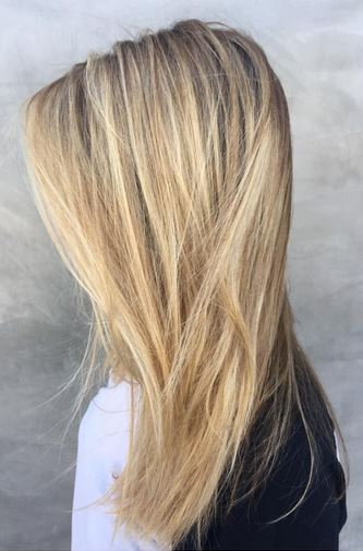 golden sunkissed highlights