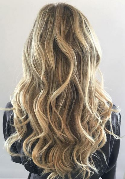 natural blonde babylights
