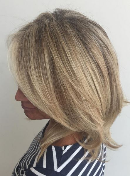 so natural looking - superfine blonde babylights