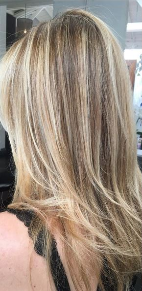 Natural Brown Hair With Blonde Highlights