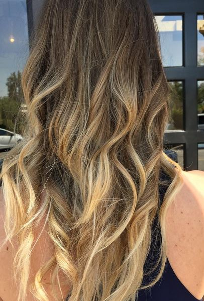sunkissed blonde highlights