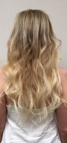 custom hair extensions - so natural looking