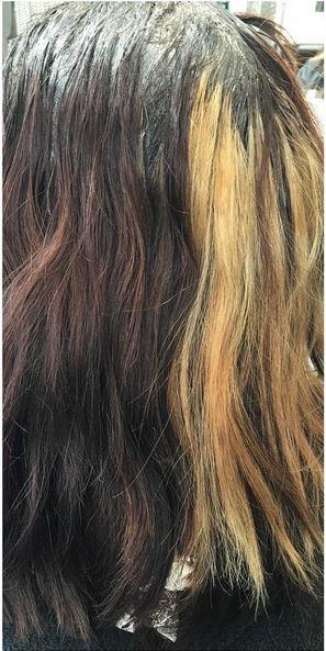 hair color correction photos