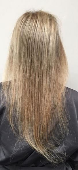 hair extensions before and after photos